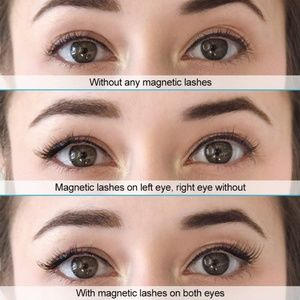 Makeup - 8 Piece magnetic eye lashes